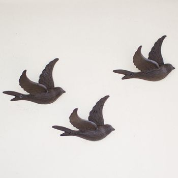 Flying Bird Wall Hook (Set-4)