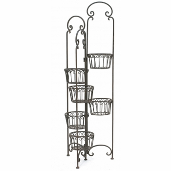 Cast Iron Folding Plant Stand