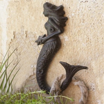 Cast Iron Mermaid Hook (Set-4)