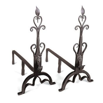 Cathedral Andirons (Pair)