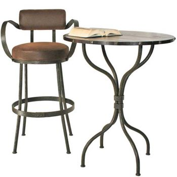 "Cedarvale Bar Table with 30"" Top"
