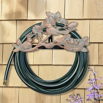 Chickadee Wall Mount Hose Holder