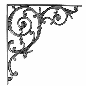 Classic Scroll Shelf Bracket