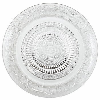 Glass Luncheon Plates (6) -CS
