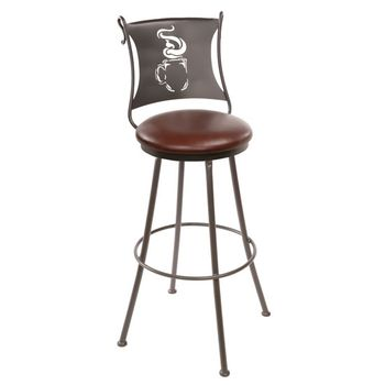 Coffee Cup Counter Stool