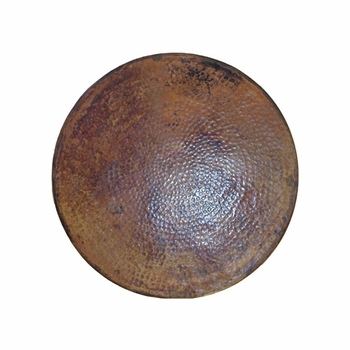 """Copper Table Top - Round 20""""- 24"""""""