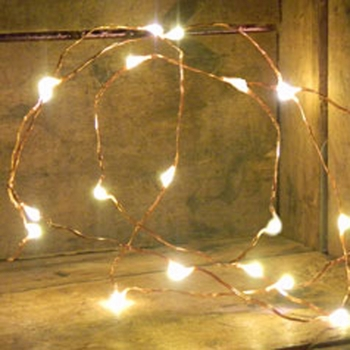 Copper Wire Lights - Battery