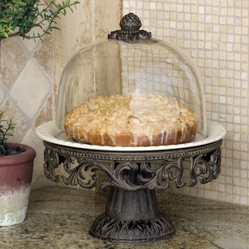 Covered Cake Pedestal