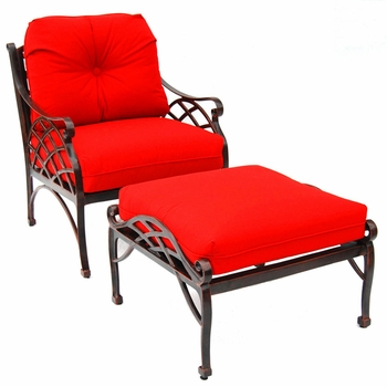 Crossweave Deep Seat Chair