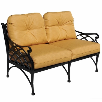 Crossweave Love Seat