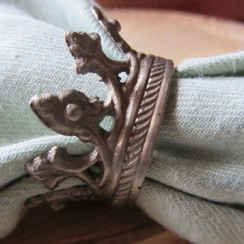 Crown Napkin Rings (Set-4)