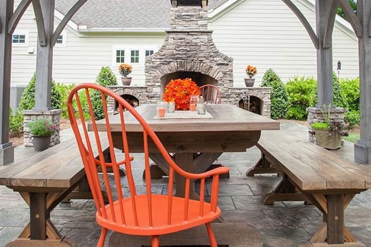 Give Your Outdoor Gathering Area The Luxury Treatment