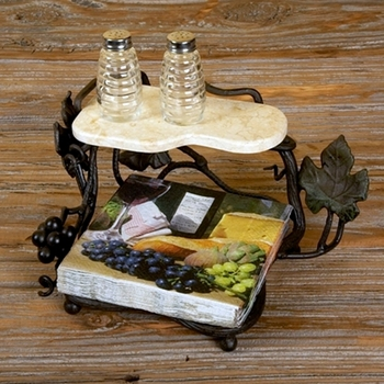 Vineyard Luncheon Napkin Holder