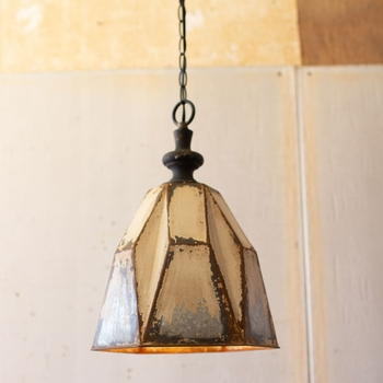 Distressed Pendant Light