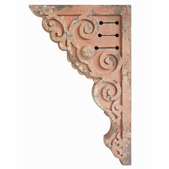 Distressed Pink Corbels (Set-2)