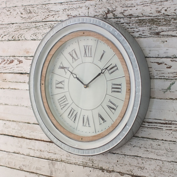Enamelware Wall Clock
