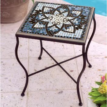 Mosaic End Table - Square 18""