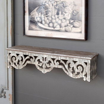 Filigree Wall Shelf
