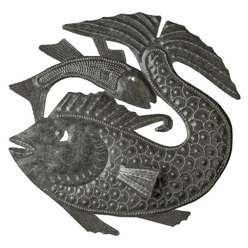Fish Tails Plaque -3D