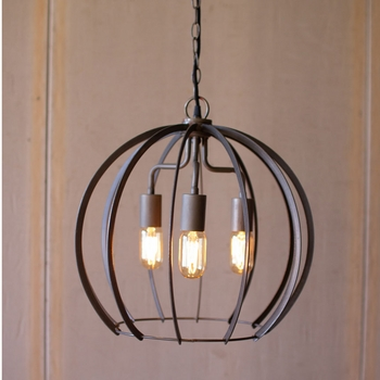 Flat Iron Pendant Light