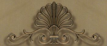 Fleur de Lis Medium Drapery Crown