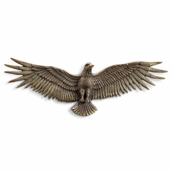 Flying Eagle Wall Plaque
