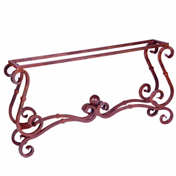 French Console Table Base
