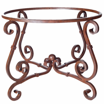 French Dining Table Base - Lg