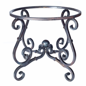 French Dining Table Base - Sm