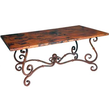 French Dining Table w/ 72x44 Top