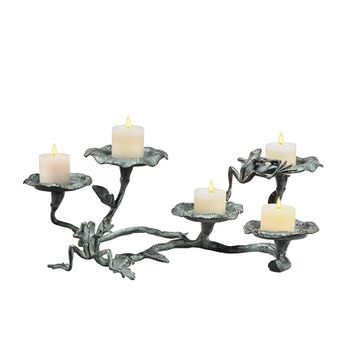 Lily Pads Candle Holder