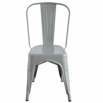 Grey Metal Chairs (Set-2)
