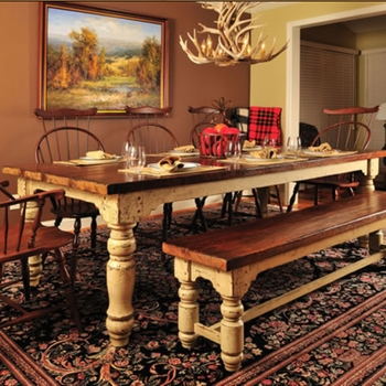 Hand-Craft Farm Table