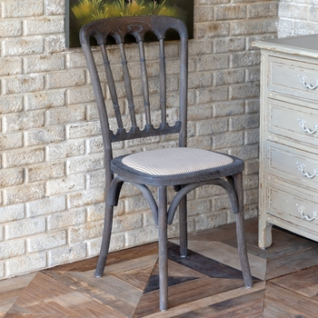 Henry Reception Chair in Tobacco