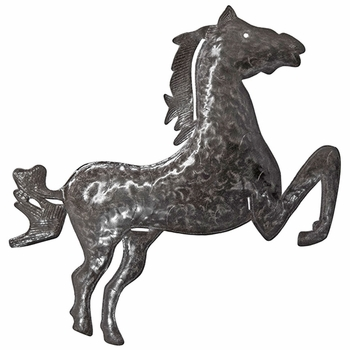 Horse Metal Plaque