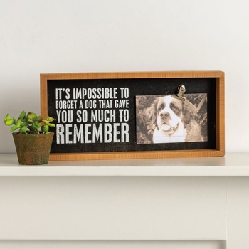 Impossible To Forget Photo Frame