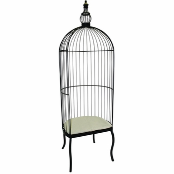 Iron Birdcage Chair