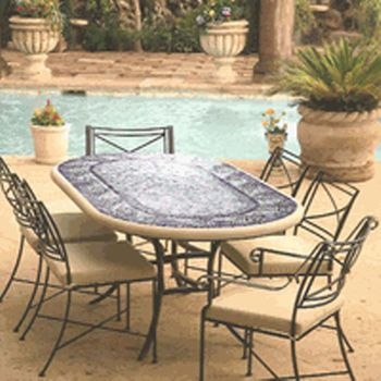 Iron Patio Tables