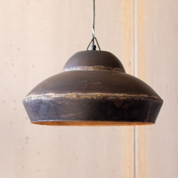 Iron Dome Pendant Light