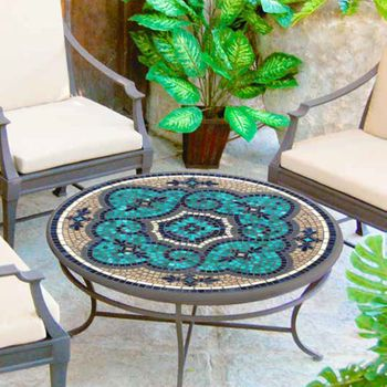 Mosaic Double Coffee Table - 36""