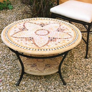 Mosaic Double Coffee Table - 30""