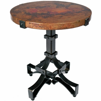 Rivet Strap Accent Table Base