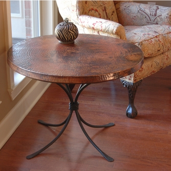 "Italia Accent Table with 30"" Top"
