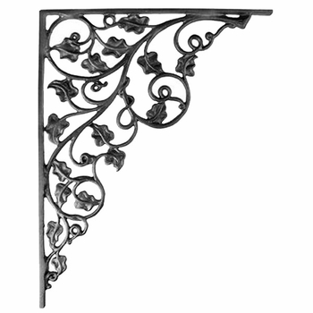 Ivy Iron Shelf Bracket