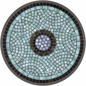 Jade Glass Mosaic