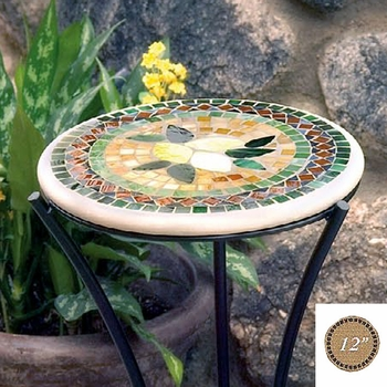 """Mosaic  Table Top - 12"""" Round"""
