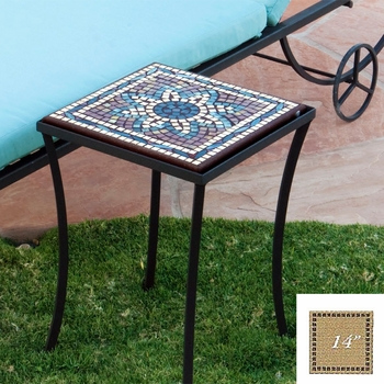 "Mosaic Table Top - 14"" Square"