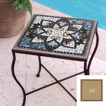 "Mosaic Table Top - 18"" Square"