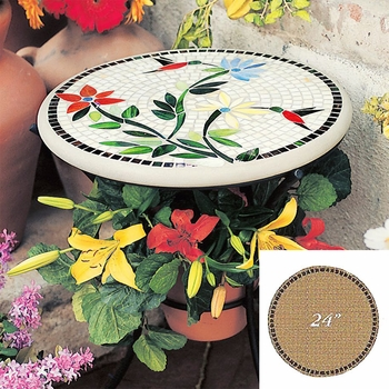 """Mosaic Table Top - 24"""" Round"""