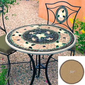 """Mosaic Table Top - 30"""" Round"""